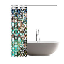 "Taos Nature Shower Curtain 60""x72"" Shower Curtain 60""x72"" e-joyer"