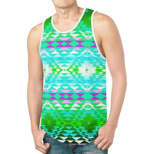 Taos Powwow 120 New All Over Print Tank Top for Men (Model T46) New All Over Print Tank Top for Men (T46) e-joyer