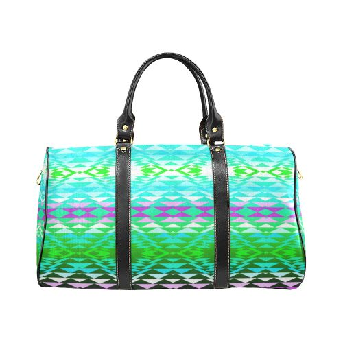 Taos Powwow 120 New Waterproof Travel Bag/Small (Model 1639) Waterproof Travel Bags (1639) e-joyer