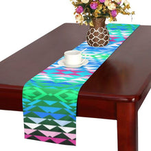 Taos Powwow 150 Table Runner 16x72 inch Table Runner 16x72 inch e-joyer