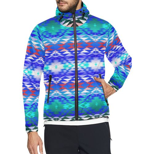 Taos Powwow 180 All Over Print Windbreaker for Men (Model H23) All Over Print Windbreaker for Men (H23) e-joyer