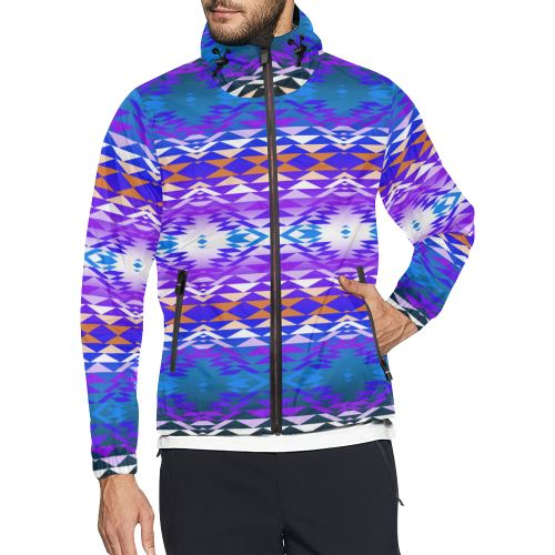 Taos Powwow 210 All Over Print Windbreaker for Men (Model H23) All Over Print Windbreaker for Men (H23) e-joyer