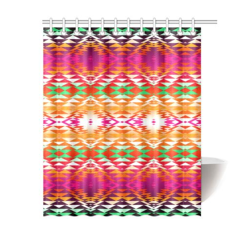 Taos Powwow 330 Shower Curtain 60