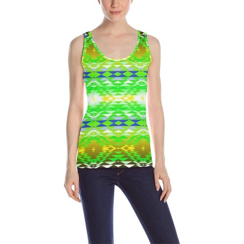 Taos Powwow 60 All Over Print Tank Top for Women (Model T43) All Over Print Tank Top for Women (T43) e-joyer