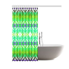 "Taos Powwow 90 Shower Curtain 60""x72"" Shower Curtain 60""x72"" e-joyer"