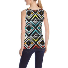 Taos Sunrise All Over Print Tank Top for Women (Model T43) All Over Print Tank Top for Women (T43) e-joyer