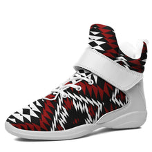Taos Wool Kid's Ipottaa Basketball / Sport High Top Shoes 49 Dzine US Child 12.5 / EUR 30 White Sole with White Strap