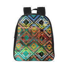 Taos Wool School Backpack (Model 1601)(Small) School Backpacks/Small (1601) e-joyer