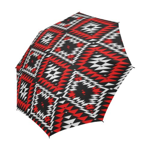 Taos Wool Semi-Automatic Foldable Umbrella Semi-Automatic Foldable Umbrella e-joyer