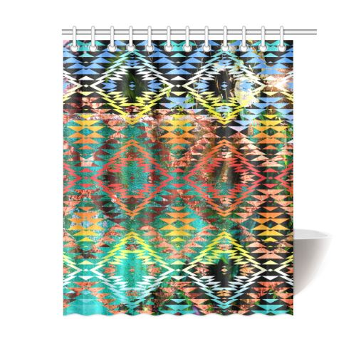 Taos Wool Shower Curtain 60