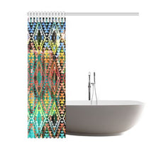 "Taos Wool Shower Curtain 60""x72"" Shower Curtain 60""x72"" e-joyer"