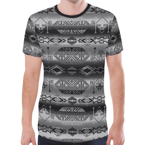 Trade Route Cave New All Over Print T-shirt for Men/Large Size (Model T45) New All Over Print T-shirt for Men/Large (T45) e-joyer