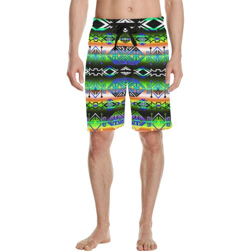 Trade Route East Men's All Over Print Casual Shorts (Model L23) Men's Casual Shorts (L23) e-joyer