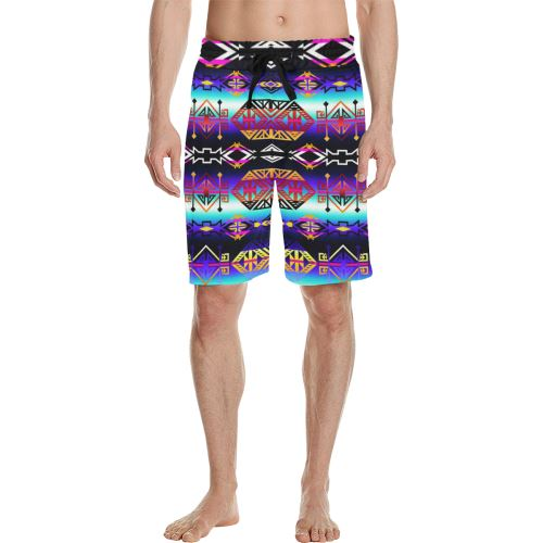 Trade Route Master Men's All Over Print Casual Shorts (Model L23) Men's Casual Shorts (L23) e-joyer