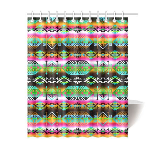Trade Route North Shower Curtain 60