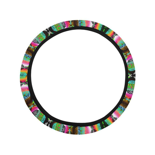 Trade Route North Steering Wheel Cover with Elastic Edge Steering Wheel Cover with Elastic Edge e-joyer