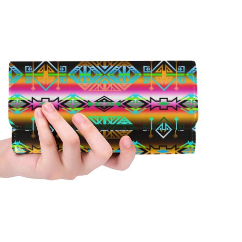 Trade Route North Women's Trifold Wallet (Model 1675) Women's Trifold Wallet e-joyer