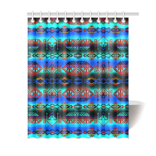 Trade Route Plains Shower Curtain 60