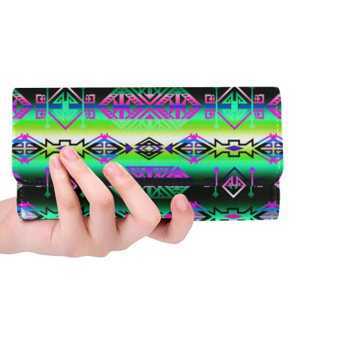 Trade Route South Women's Trifold Wallet (Model 1675) Women's Trifold Wallet e-joyer