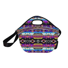 Trade Route West Neoprene Lunch Bag/Large (Model 1669) Neoprene Lunch Bag/Large (1669) e-joyer