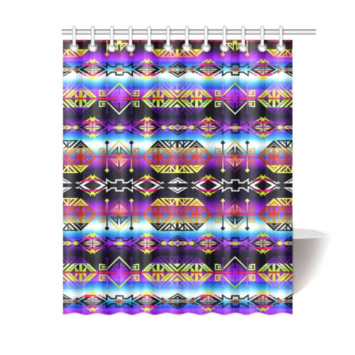 Trade Route West Shower Curtain 60