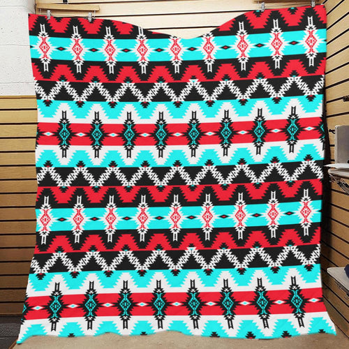 Two Spirit Dance Quilted Blanket Quilt 70