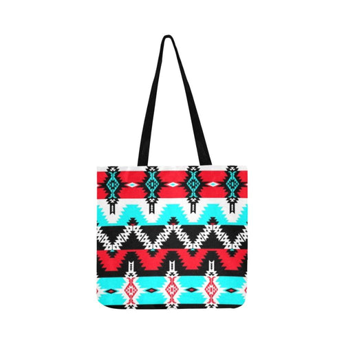 Two Spirit Dance Reusable Shopping Bag Model 1660 (Two sides) Shopping Tote Bag (1660) e-joyer