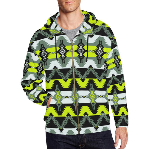 Two Spirit Medicine All Over Print Full Zip Hoodie for Men (Model H14) All Over Print Full Zip Hoodie for Men (H14) e-joyer