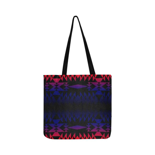 Two Worlds Apart Reusable Shopping Bag Model 1660 (Two sides) Shopping Tote Bag (1660) e-joyer