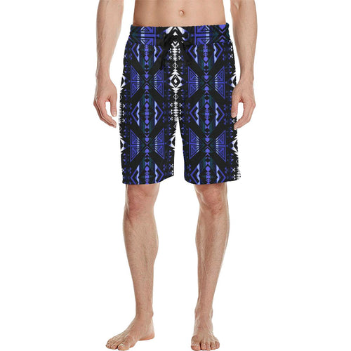 Upstream Expedition Forest Sky Men's All Over Print Casual Shorts (Model L23) Men's Casual Shorts (L23) e-joyer
