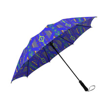 Upstream Expedition Midnight Run Semi-Automatic Foldable Umbrella Semi-Automatic Foldable Umbrella e-joyer