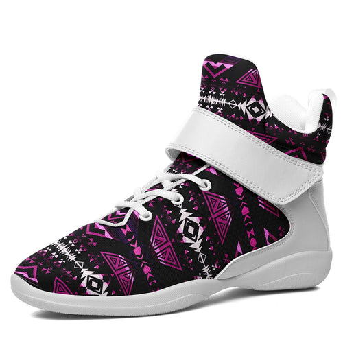 Upstream Expedition Moonlight Shadows Ipottaa Basketball / Sport High Top Shoes 49 Dzine US Women 4.5 / US Youth 3.5 / EUR 35 White Sole with White Strap