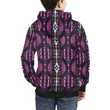 Upstream Expedition Moonlight Shadows Kids' All Over Print Hoodie (Model H38) Kids' AOP Hoodie (H38) e-joyer