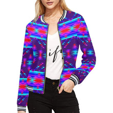 Vision of Peace LG All Over Print Bomber Jacket for Women (Model H21) All Over Print Bomber Jacket for Women (H21) e-joyer