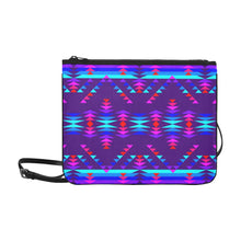 Vision of Peace LG Slim Clutch Bag (Model 1668) Slim Clutch Bags (1668) e-joyer