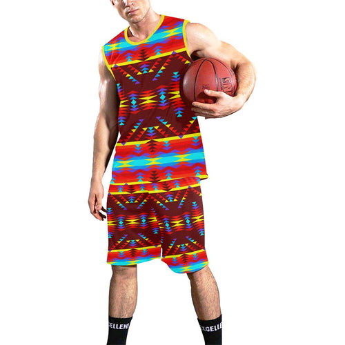 Visions of Lasting Peace All Over Print Basketball Uniform Basketball Uniform e-joyer