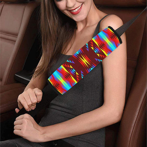 Visions of Lasting Peace Car Seat Belt Cover 7''x12.6'' Car Seat Belt Cover 7''x12.6'' e-joyer