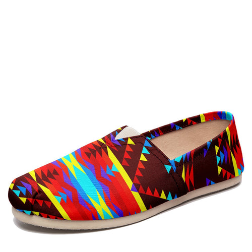 Visions of Lasting Peace Casual Unisex Slip On Shoe Herman