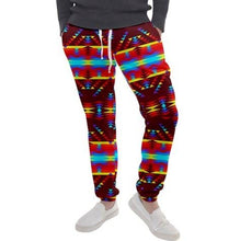 Visions of Lasting Peace Men's Jogger Sweatpants FullShirt 49 Dzine
