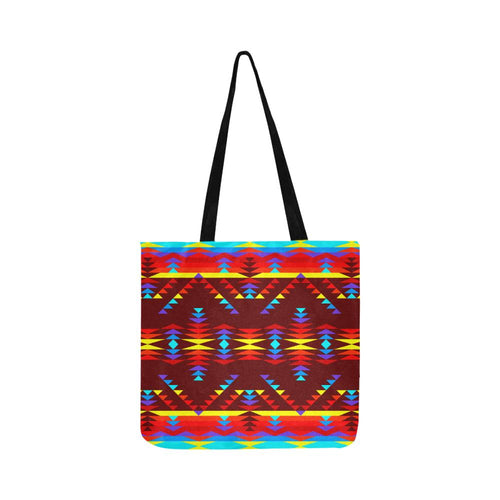 Visions of Lasting Peace Reusable Shopping Bag Model 1660 (Two sides) Shopping Tote Bag (1660) e-joyer