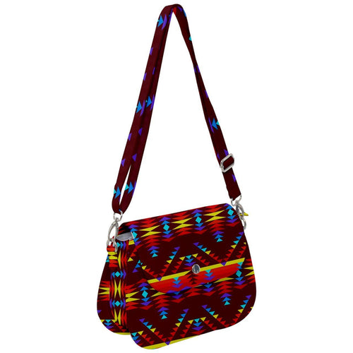 Visions of Lasting Peace Saddle Handbag cross-body-handbags 49 Dzine