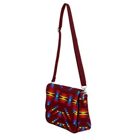 Visions of Lasting Peace Shoulder Bag with Back Zipper 49 Dzine