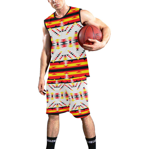 Visions of Peace Directions All Over Print Basketball Uniform Basketball Uniform e-joyer