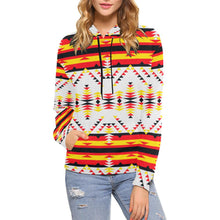 Visions of Peace Directions All Over Print Hoodie for Women (USA Size) (Model H13) All Over Print Hoodie for Women (H13) e-joyer
