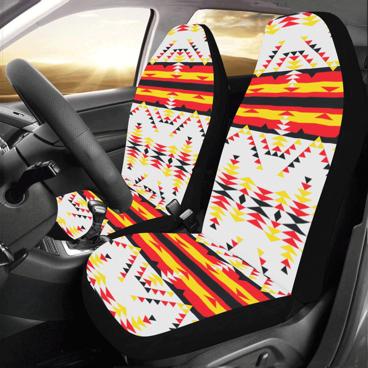 Visions of Peace Directions Car Seat Covers (Set of 2) Car Seat Covers e-joyer