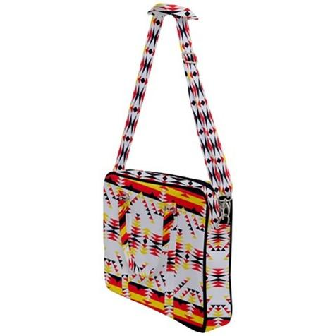 Visions of Peace Directions Cross Body Office Bag 49 Dzine