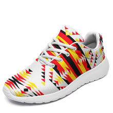 Visions of Peace Directions Ikkaayi Sport Sneakers 49 Dzine US Women 4.5 / US Youth 3.5 / EUR 35 White Sole