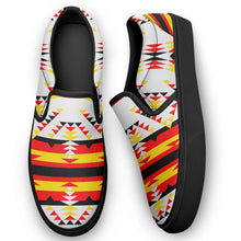 Visions of Peace Directions Otoyimm Canvas Slip On Shoes 49 Dzine