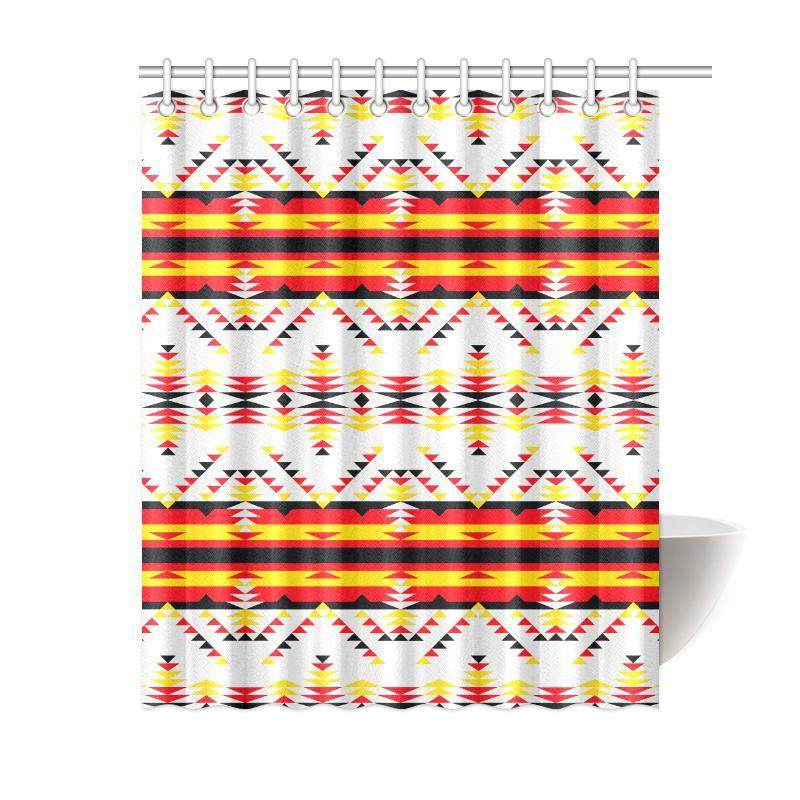 Visions of Peace Directions Shower Curtain 60