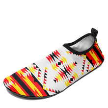 Visions of Peace Directions Sockamoccs Slip On Shoes 49 Dzine